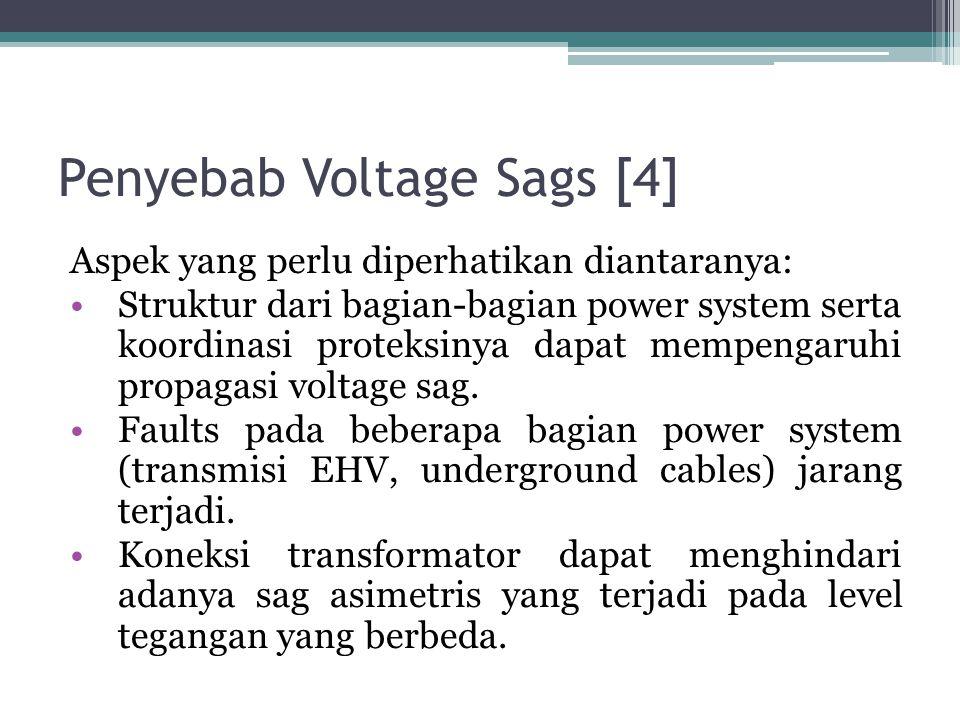 Penyebab Voltage Sags [4]